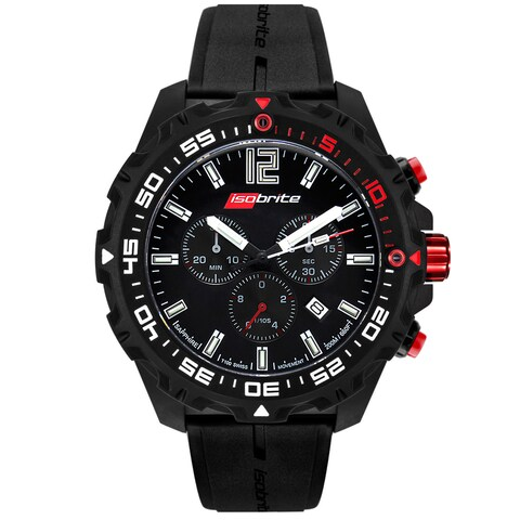 Isobrite Men's Chronograph T100 Tritium Watch