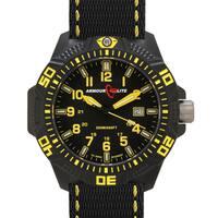 Armourlite Men's Caliber Series Polycarbon Yellow Tritium Watch