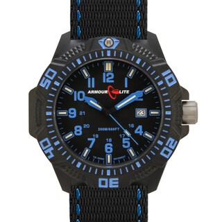 Armourlite Men's Caliber Series Blue Tritium Watch