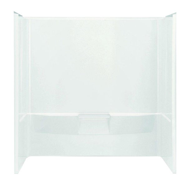Shop Performa 3-piece White Tub and Shower Wall Set - Free Shipping ...
