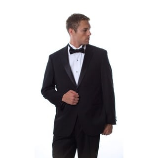 Caravelli Men's Formal Wear Black Tuxedo (Option: 42l)