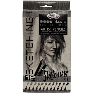 Essentials Artist Sketching Pencils 12/Pkg