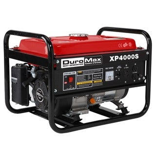 DuroMax 4000 Watt 7.0 Hp Air Cooled OHV Gas Engine Portable RV Generator. CARB Approved