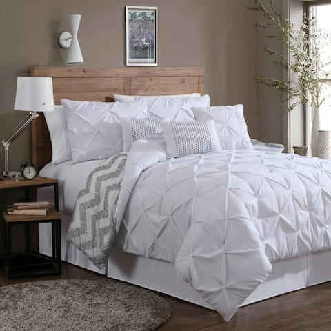 White Comforter Sets Find Great Bedding Deals Shopping