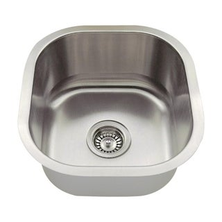 MR Direct 1716 Stainless Steel Bar Sink