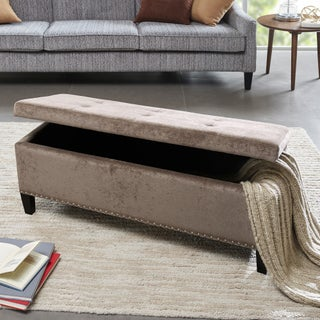 Clay Alder Home Campbell Tessa Tufted Top Storage Bench