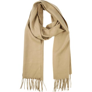 Le Nom Solid Woven Scarf
