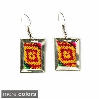 Short Deco Aguayo Earrings (Bolivia)