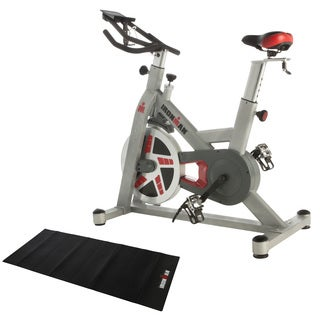 IRONMAN H-Class 520 Magnetic Tension Indoor Training Cycle with Bluetooth, BONUS My Cloud Fitness Chest Belt and Equipment Mat