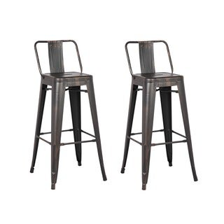 Black Bar Stool 29-inch (Set of 2)