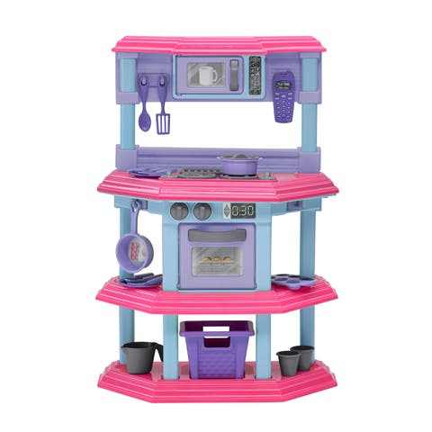 American Plastic Toys My Very Own Sweet Treat Kitchen Set - Pink