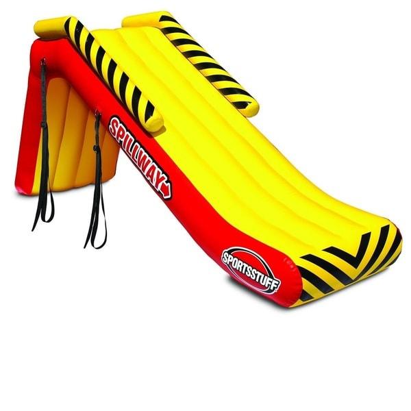 Shop Sportsstuff Spillway Inflatable Pontoon Boat Slide