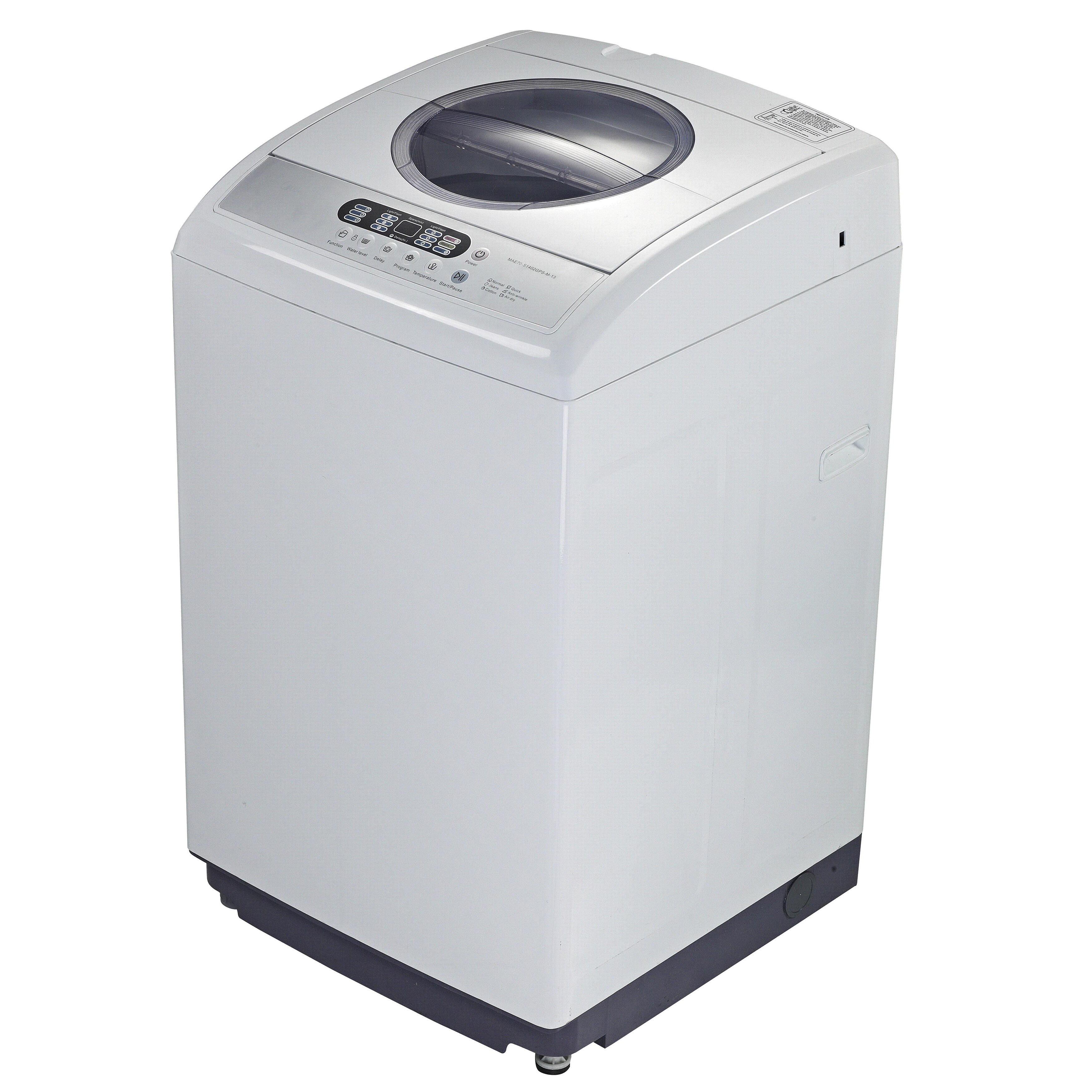 RCA 2.1 Cubic-Foot Portable Washing Machine, White (Stain...