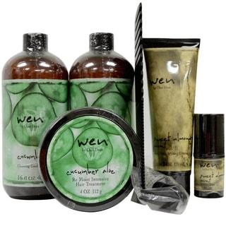 Wen Cucumber Aloe Healthy Hair Care 5-piece Kit
