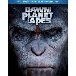 Dawn Of The Planet Of The Apes 3D (Blu-ray Disc)