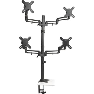 Tripp Lite Quad Full-Motion Display Flex Arm Desk Mount Monitor Stand