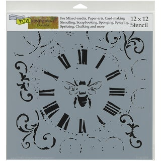 """Crafter's Workshop Template 12""""X12""""-Bee On Time"""