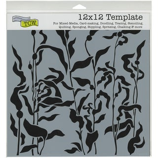 "Crafter's Workshop Template 12""X12""-Kelp Forest"