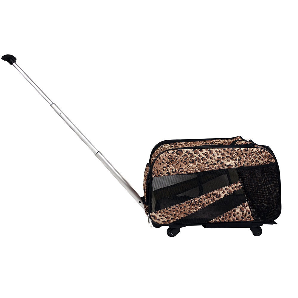"dbEST Pet Smart Cart -Medium 20""X4""X11""-Cheetah (Cheetah)..."