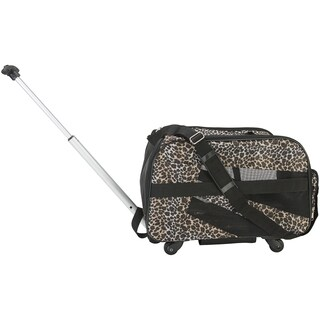 "Pet Smart Cart -Small 18""X4""X11""-Leopard"