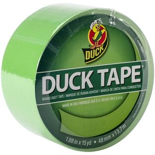 "Bright Colored Duck Tape 1.88""X15yd-Island Lime"