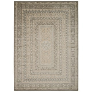 Michael Amini Platine Multicolor Area Rug by Nourison (5'3 x 7'5)
