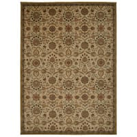 kathy ireland Ancient Times Persian Treasure Ivory Area Rug by Nourison (5'3 x 7'5) - 5'3 x 7'5