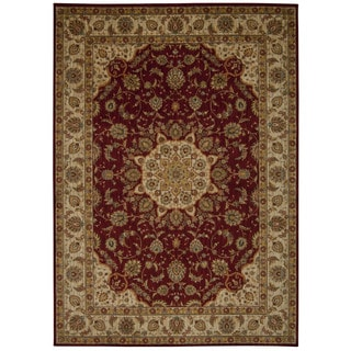 kathy ireland Ancient Times Palace Red Area Rug by Nourison (7'9 x 10'10)