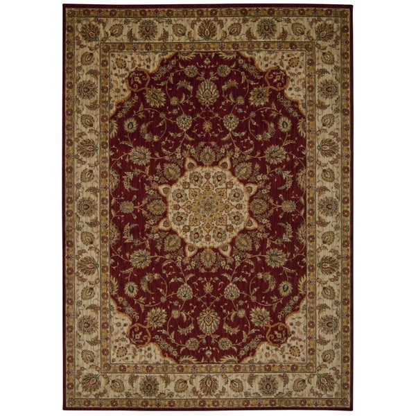 Shop Kathy Ireland Ancient Times Palace Red Area Rug By