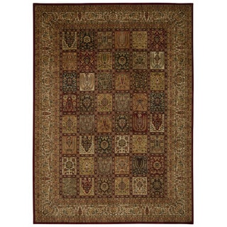 kathy ireland Ancient Times Asian Dynasty Multicolor Area Rug by Nourison (5'3 x 7'5)