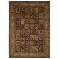 kathy ireland Ancient Times Asian Dynasty Multicolor Area Rug by Nourison (9'3 x 12'9) - 9'3 x 12'9