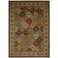 kathy ireland Ancient Times Empress Garden Multicolor Area Rug by Nourison - 7'9 x 10'10
