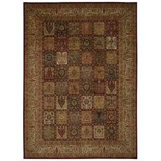 kathy ireland Ancient Times Asian Dynasty Multicolor Area Rug by Nourison (3'9 x 5'9)