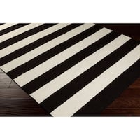 Antibes Flatweave Striped Accent Area Rug - 2' X 3'