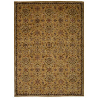 kathy ireland Ancient Times Persian Treasure Gold Area Rug by Nourison (7'9 x 10'10) - 7'9 x 10'10