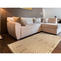 Bobigny Flatweave Abstract Accent Rug (2' x 3')