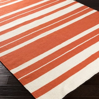Aurillac Flatweave Striped Accent Rug (2' x 3')
