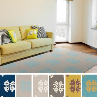 Asyut Flatweave Damask Accent Rug (2' x 3')