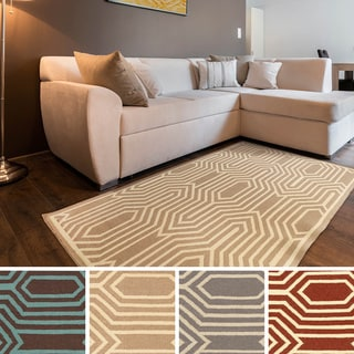 Montreuil Flatweave Abstract Area Rug (5' x 8')