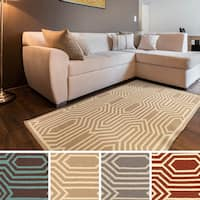 Montreuil Flatweave Abstract Area Rug - 5' x 8'