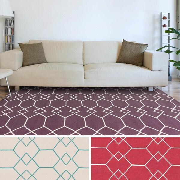 8 X 11 Area Rugs On Sale: Shop Salisbury Flatweave Geometric Area Rug