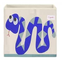 3 Sprouts Blue Snake Storage Box
