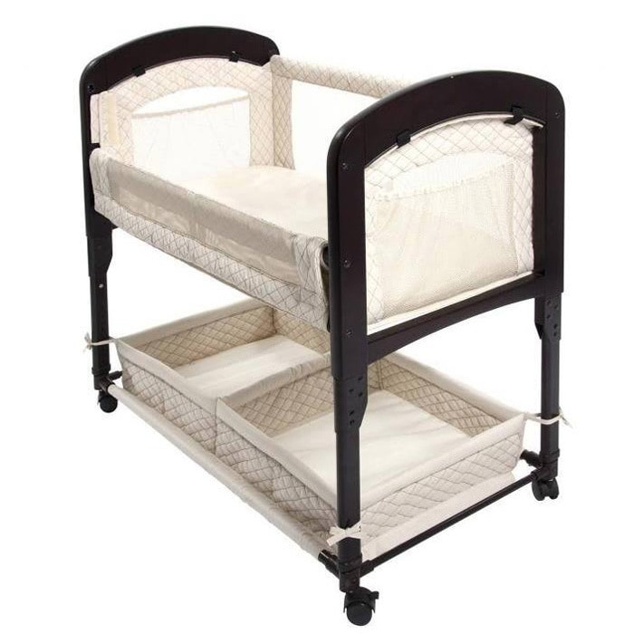 ARM'S REACH Cambria Wood Co-Sleeper (Bassinet without skirt)
