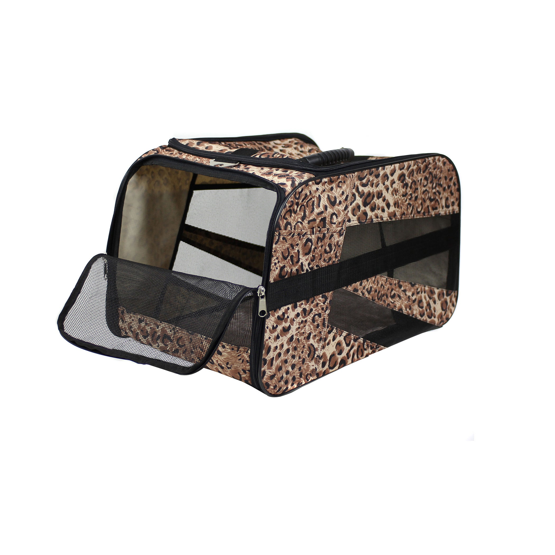 "dbEST Pet Smart Cart Carrier - Medium 20""X4""X11""-Cheetah ..."