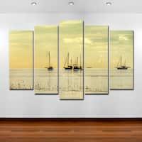 Bruce Bain 'Calm Waters' Canvas Wall Art