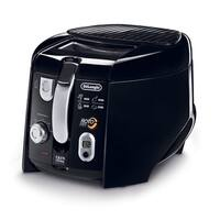 DeLonghi D28313UXBK Black 2.2 Lb. Cool Touch Roto Deep Fryer