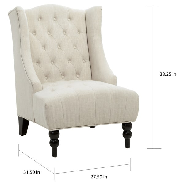 Toddman Fabric High Back Club Chair By Christopher Knight Home   Free  Shipping Today   Overstock.com   16678028