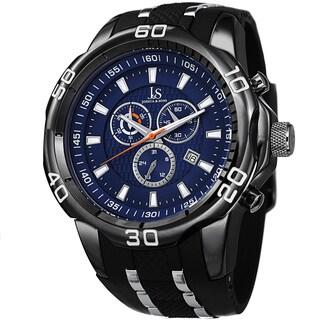 Joshua & Sons Men's Bold Swiss Quartz Chronograph Date Black Strap Watch|https://ak1.ostkcdn.com/images/products/9497779/P16677984.jpg?_ostk_perf_=percv&impolicy=medium