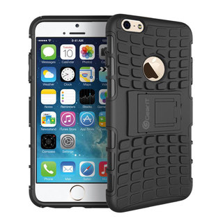GearIt Bloc Series Hybrid Rugged Tough Armor with Kickstand Case Cover for Apple iPhone 6 4.7-inch