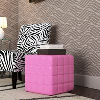 Porch & Den Over-the-Rhine Parvis Multi-function Fabric Ottoman